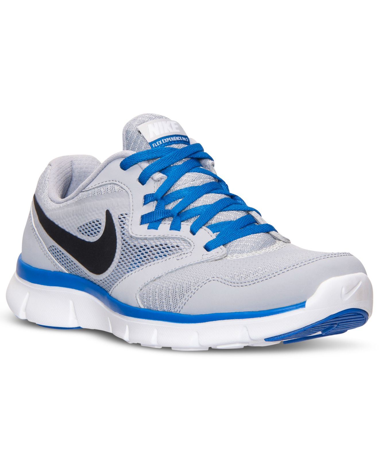 6a27a09fb9f70 Nike Gray Men's Flex Experience Run 3 Wide Running Sneakers From Finish  Line for men