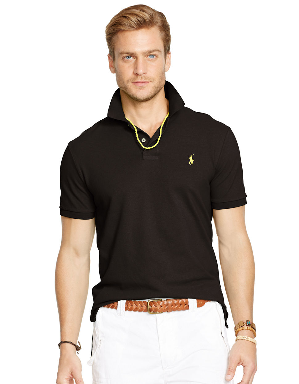poloshirt herren ralph lauren details zu polo ralph. Black Bedroom Furniture Sets. Home Design Ideas