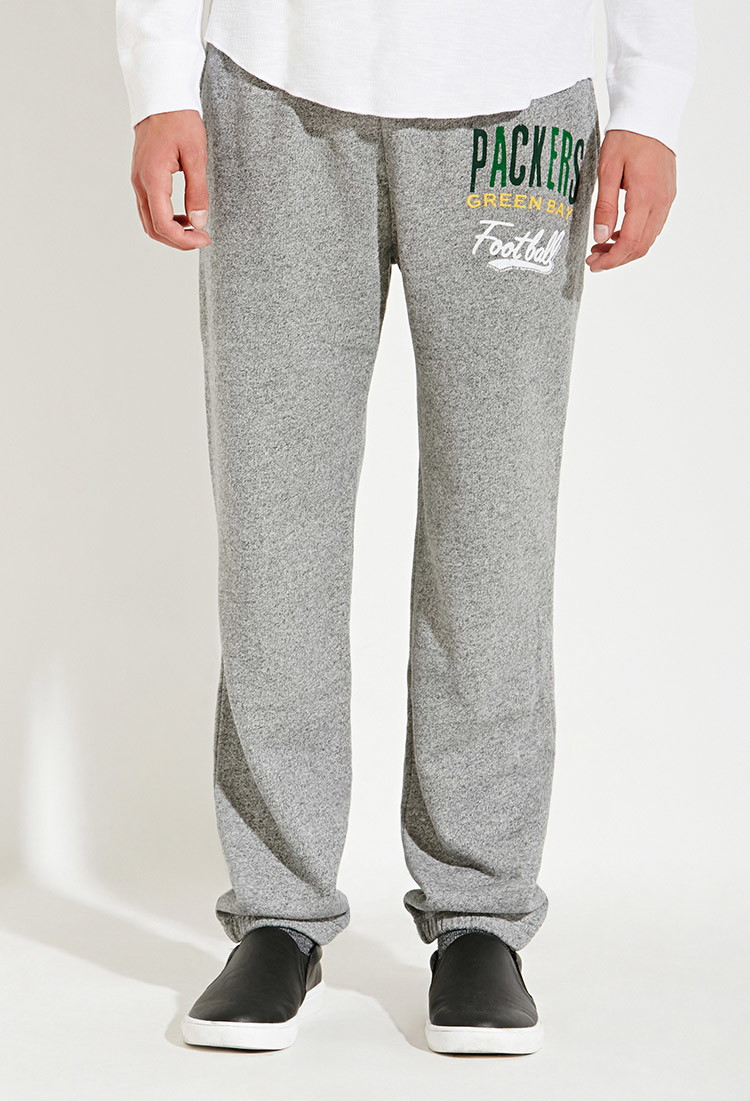 Forever 21 Junk Food Nfl Green Bay Packers Sweatpants in Gray for ...