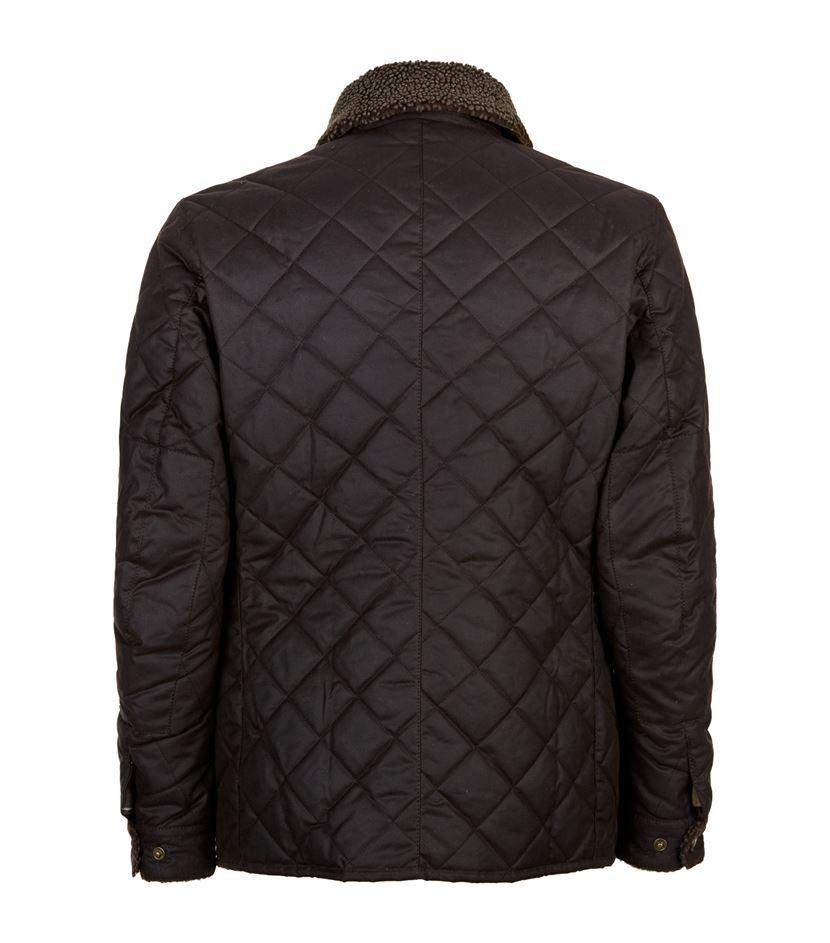 Barbour Speedometer Wax Jacket In Black For Men Lyst