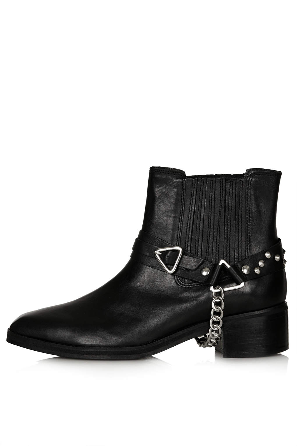 TOPSHOP Avatar Harness Boots Black