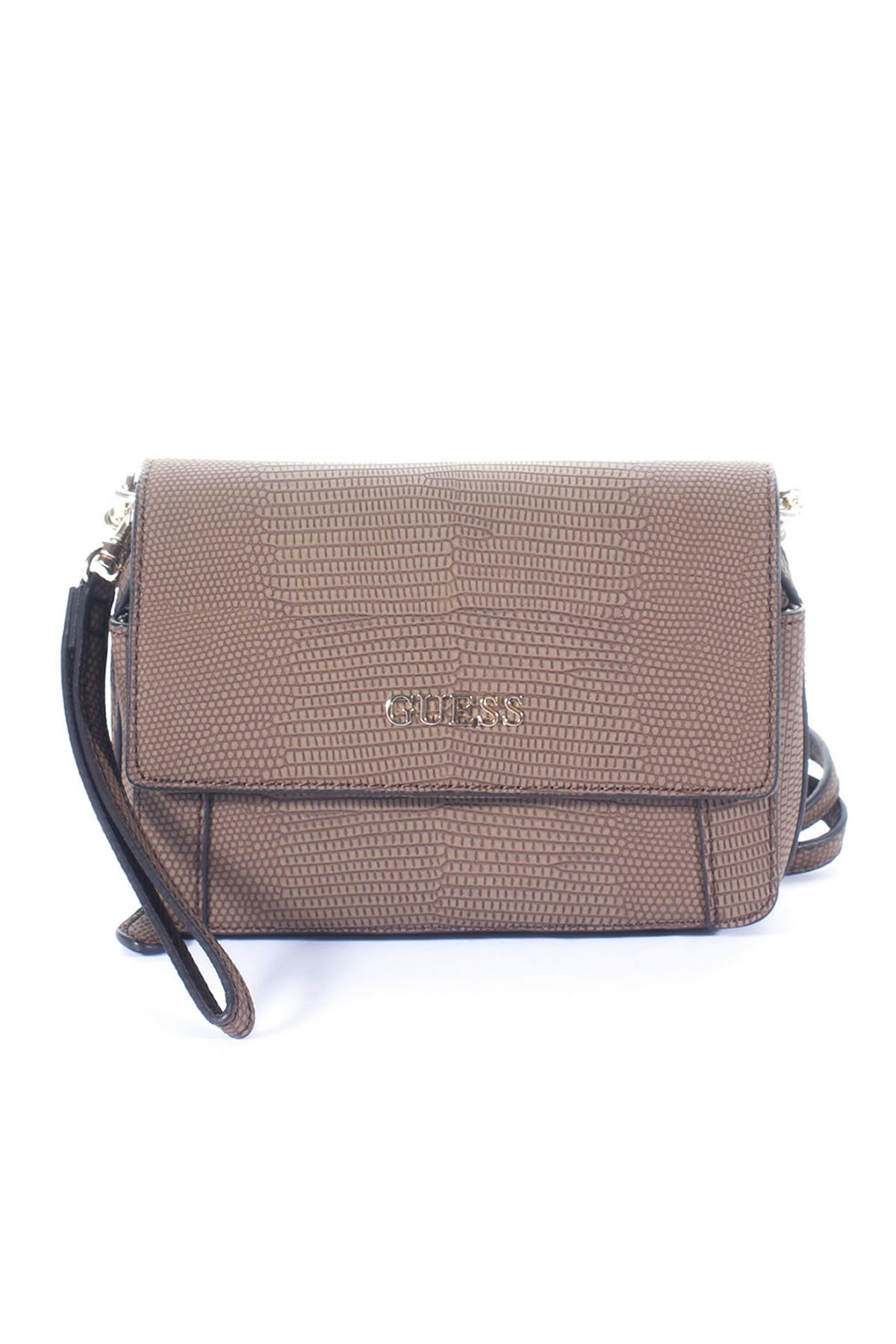 guess small bag in beige castagna lyst