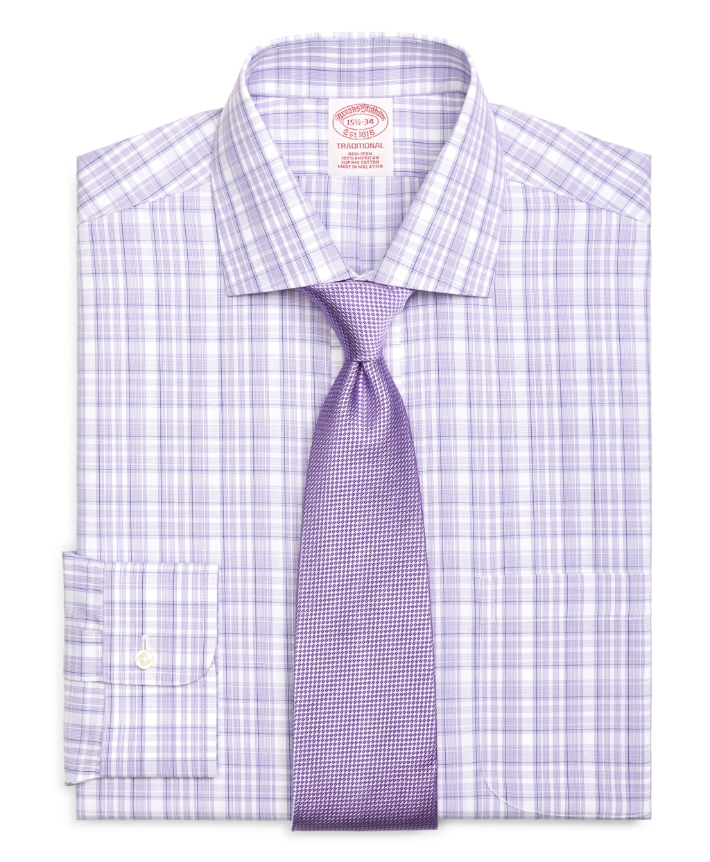 Lyst brooks brothers non iron madison fit sidewheeler for Brooks brothers non iron shirts review