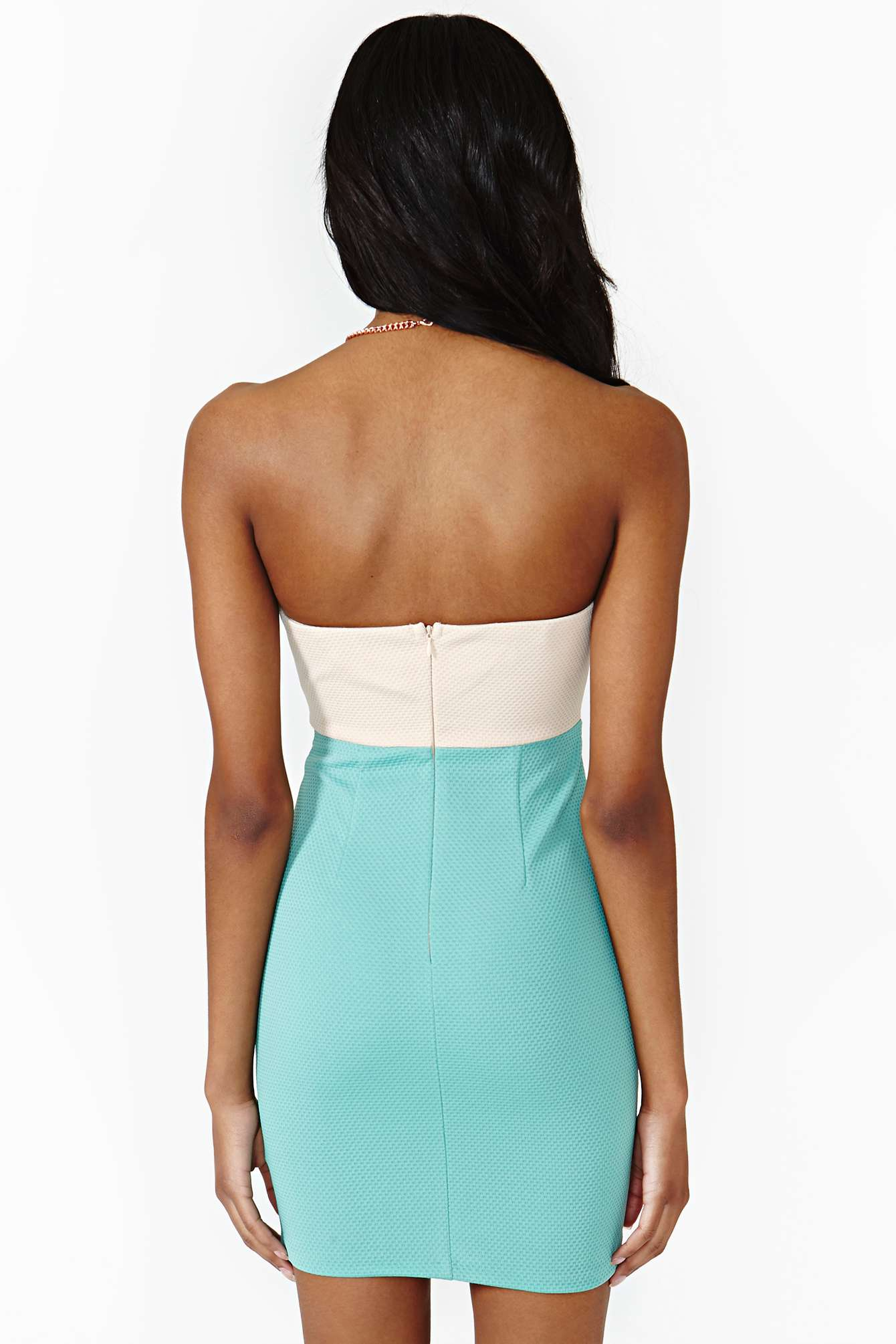 Lyst - Nasty Gal Color Theory Dress In Green-8640