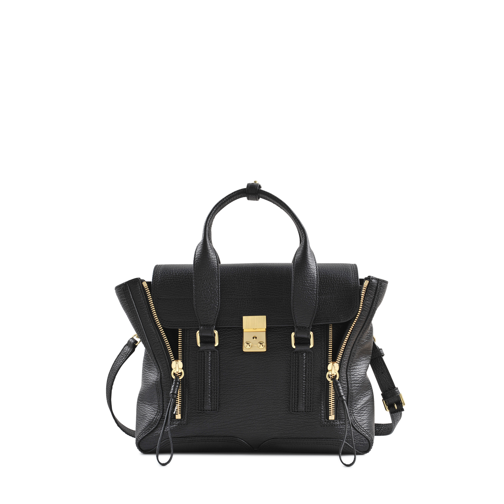 Chloe Black Bag phillip lim Pashli Medium Satchel in Black | Lyst