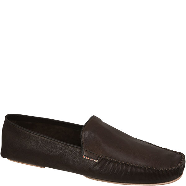 Paul Smith Mens Phileas Leather Loafer in Dark Brown (Brown) for Men