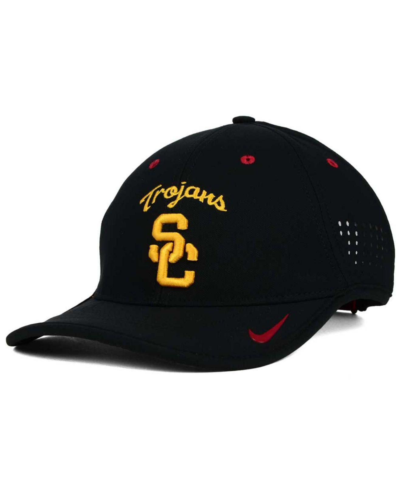 051ca281405bf Nike Usc Trojans Dri-Fit Coaches Cap in Black for Men - Lyst