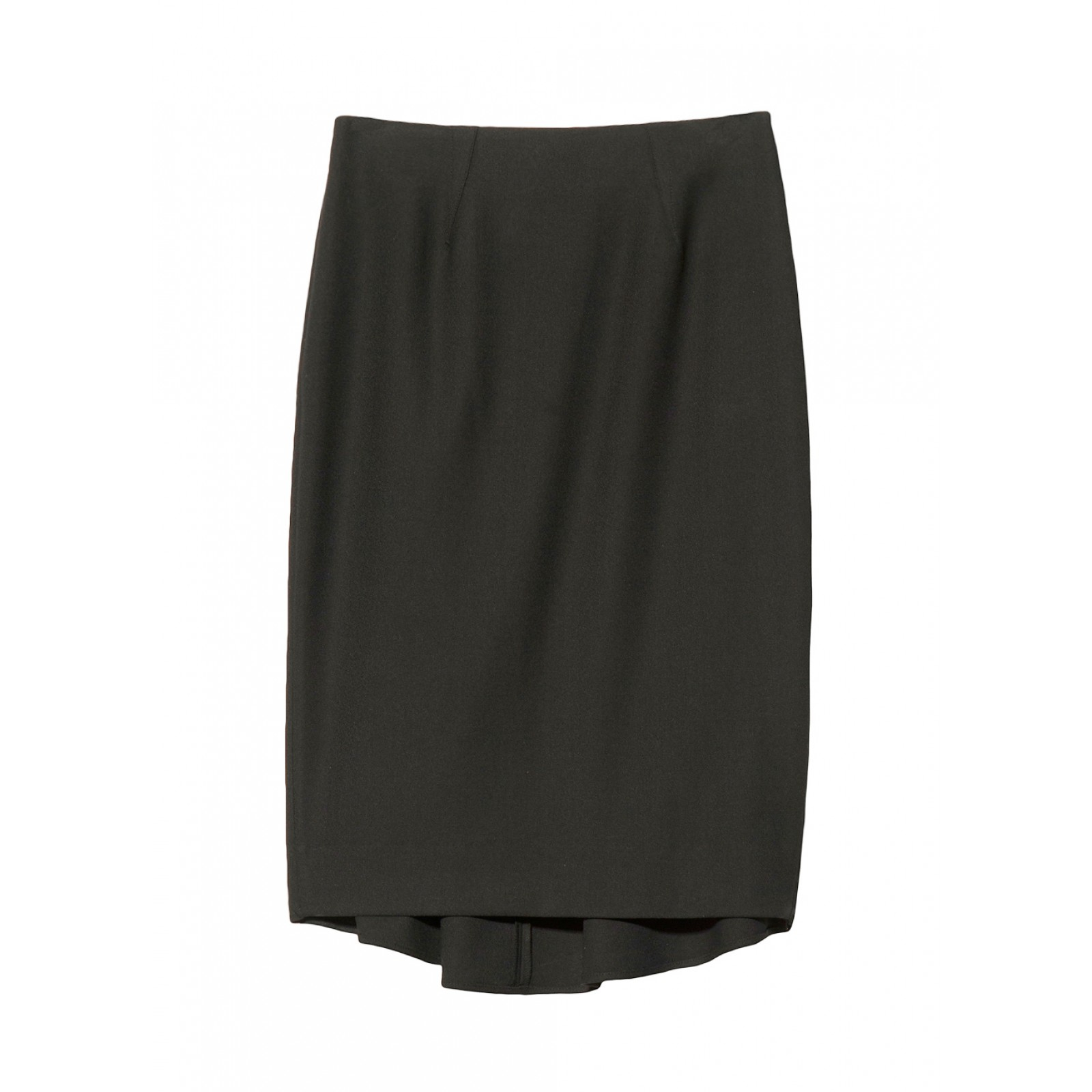 l agence zip back pencil skirt in black lyst