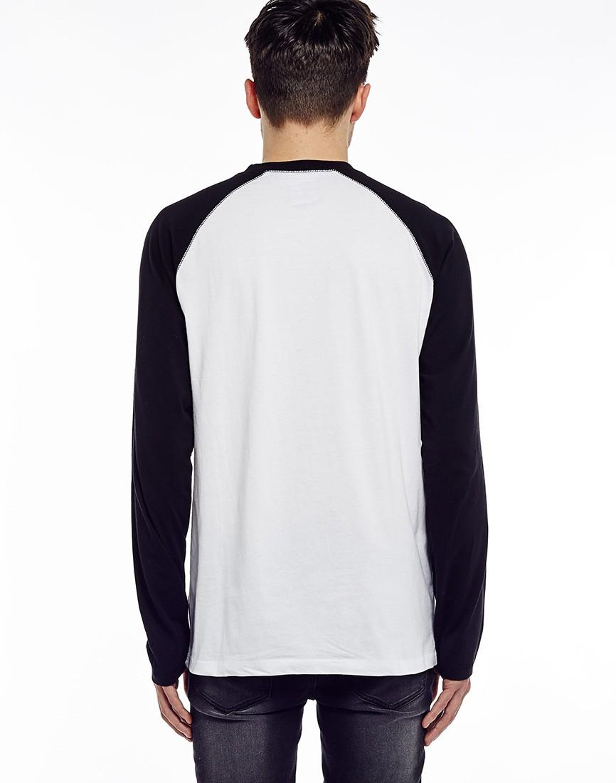 Lyst dickies 574 long sleeve work shirt in black for men for Black long sleeve work shirt