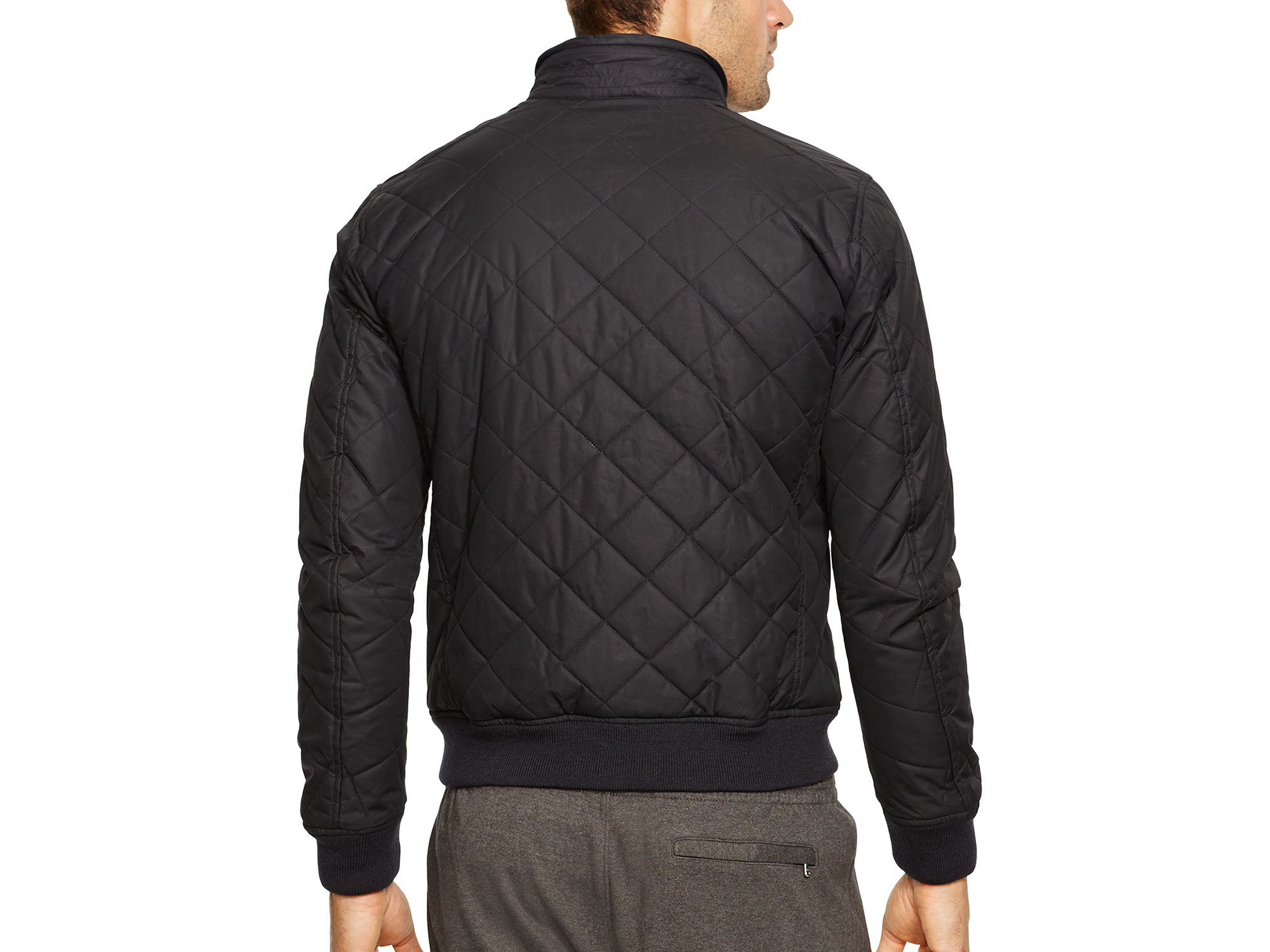 Coat Black Quilted Polo Pony Pink Sport KcJlFT31