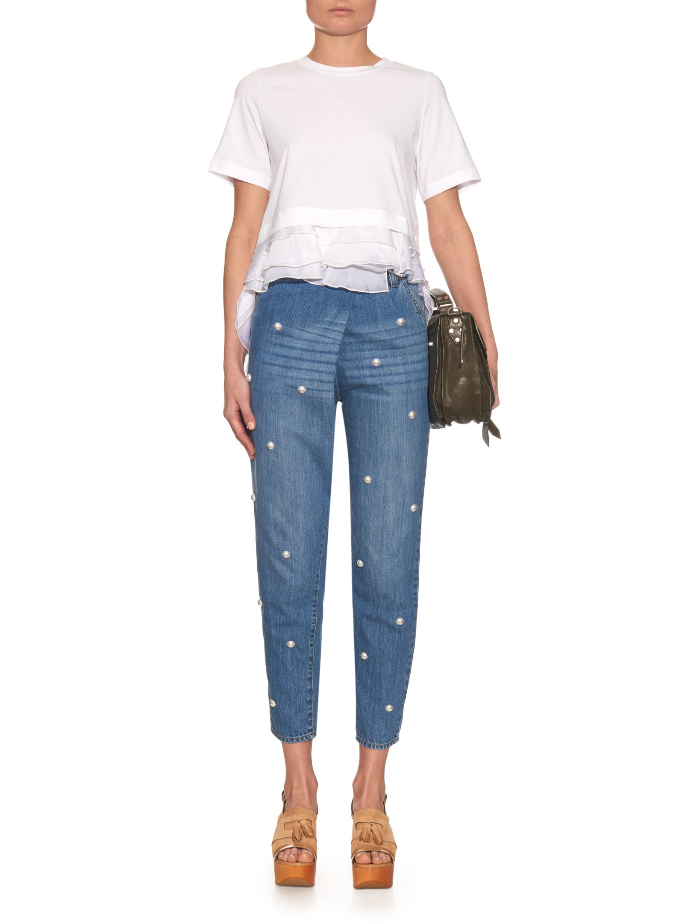 Comme des Garçons Ruffled Shirt in White for Men - Lyst |Ruffle Shirt