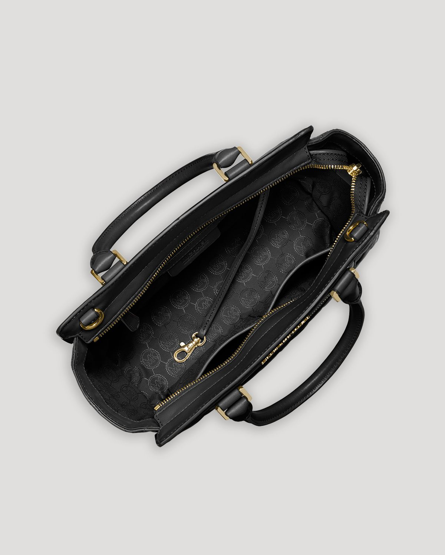 michael michael kors satchel quilted medium selma top. Black Bedroom Furniture Sets. Home Design Ideas