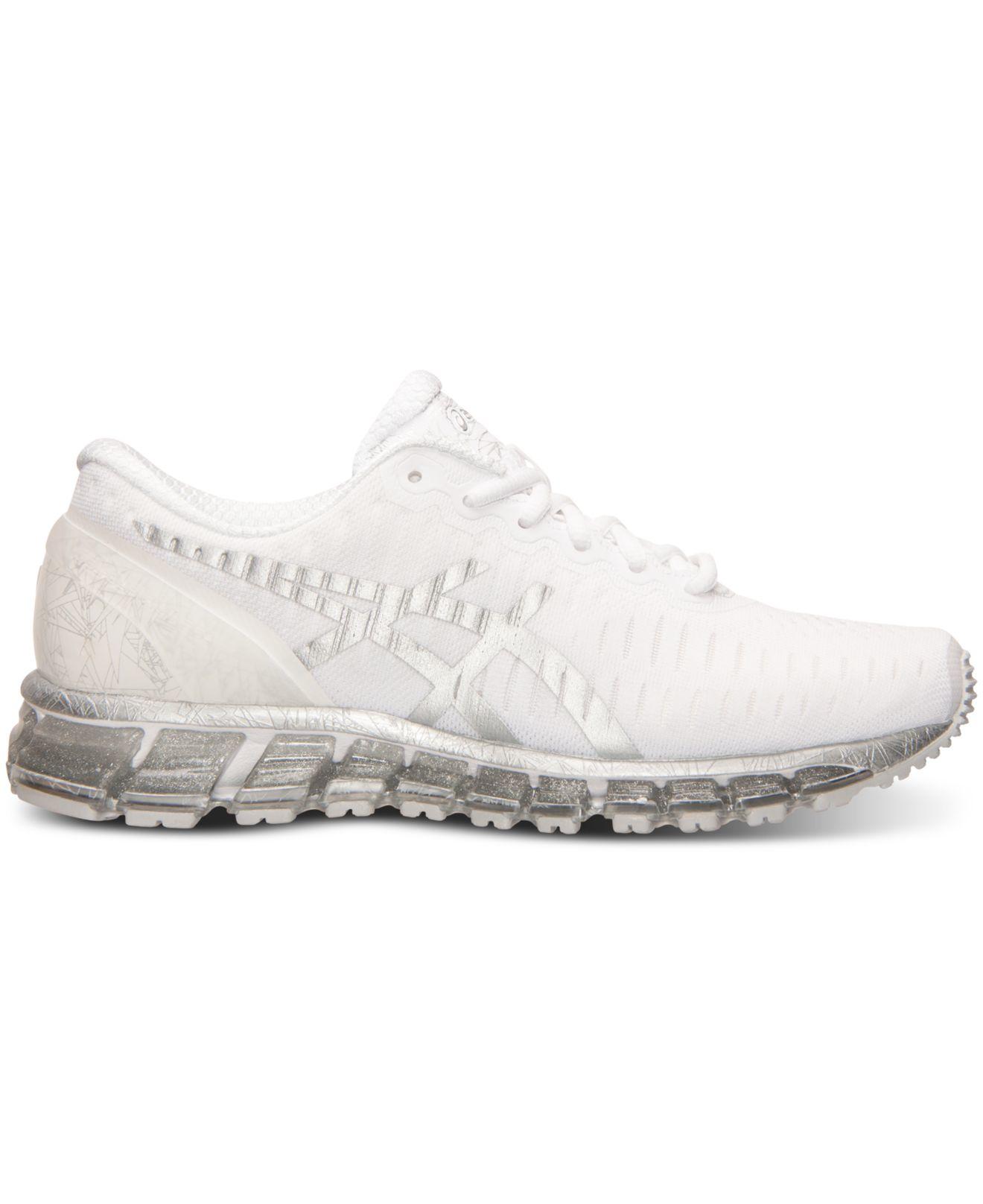 on sale 14297 ad68c store mens asics gel quantum 360 white silver de9f6 60d18