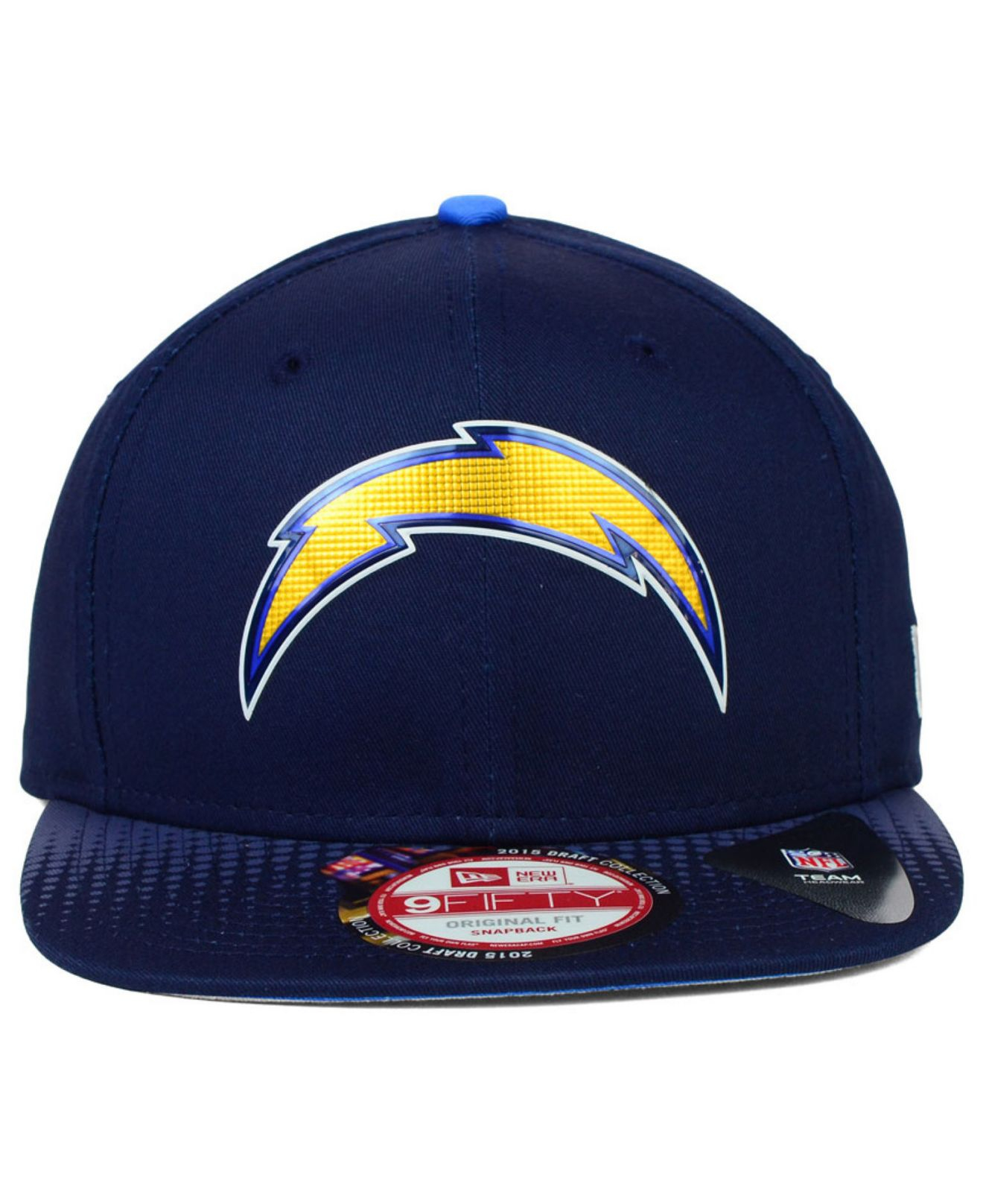 San Diego Chargers Draft: Ktz San Diego Chargers 2015 Nfl Draft 9fifty Snapback Cap