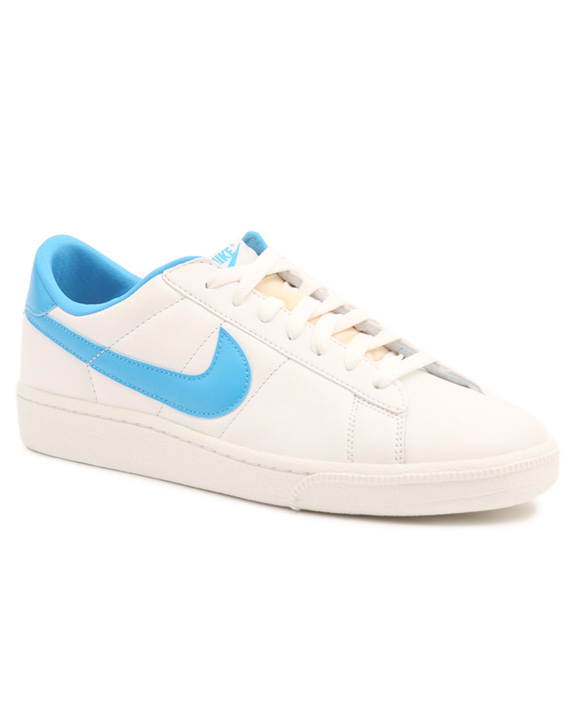 nike tennis classic white leather sneakers in white for men lyst. Black Bedroom Furniture Sets. Home Design Ideas