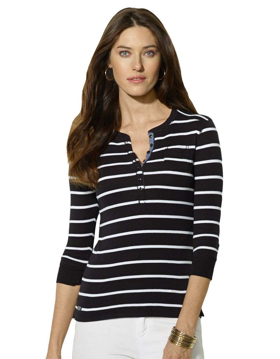 Alessandra Stripe Sweater - Blue/White $ $ Notify me when this product is available Add me to the store mailing list.