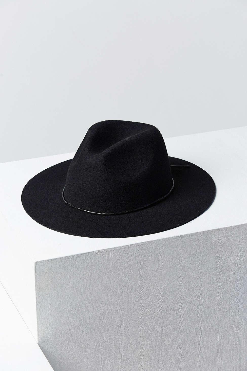 acab7243d Ecote Black Scout Panama Hat