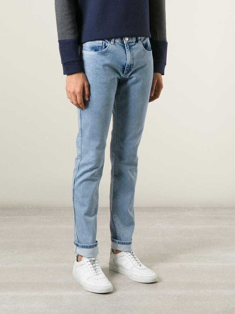 KENZO Denim Slim Fit Jeans in Blue