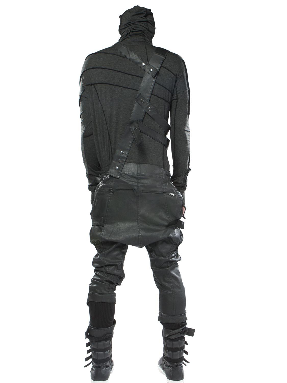 Lyst Demobaza Semi Overall X Cotton Overalls In Black
