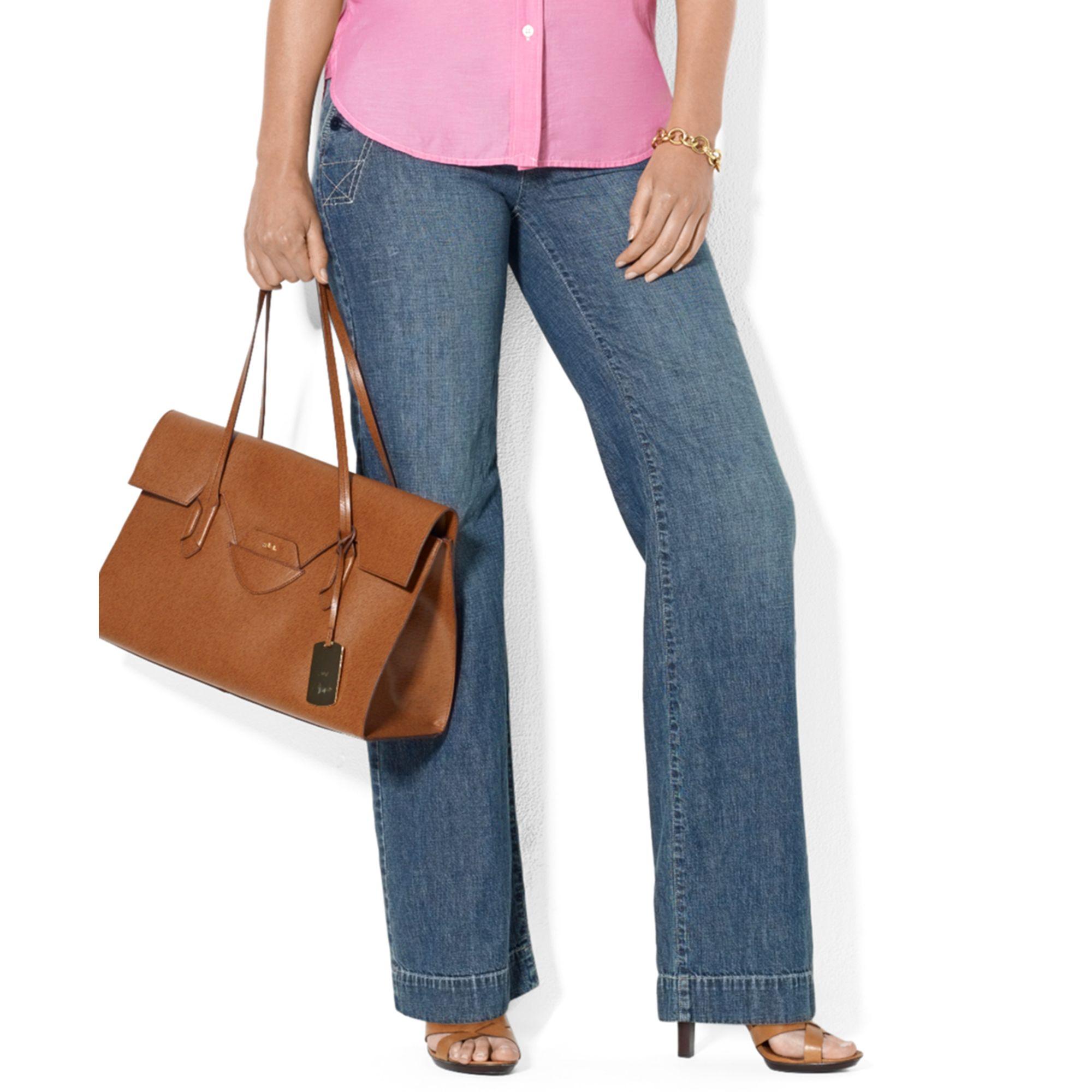 Ralph lauren plus size bootcut jeans