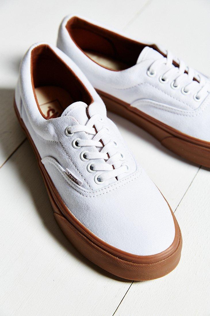 Vans White Era Gumsole Shoe