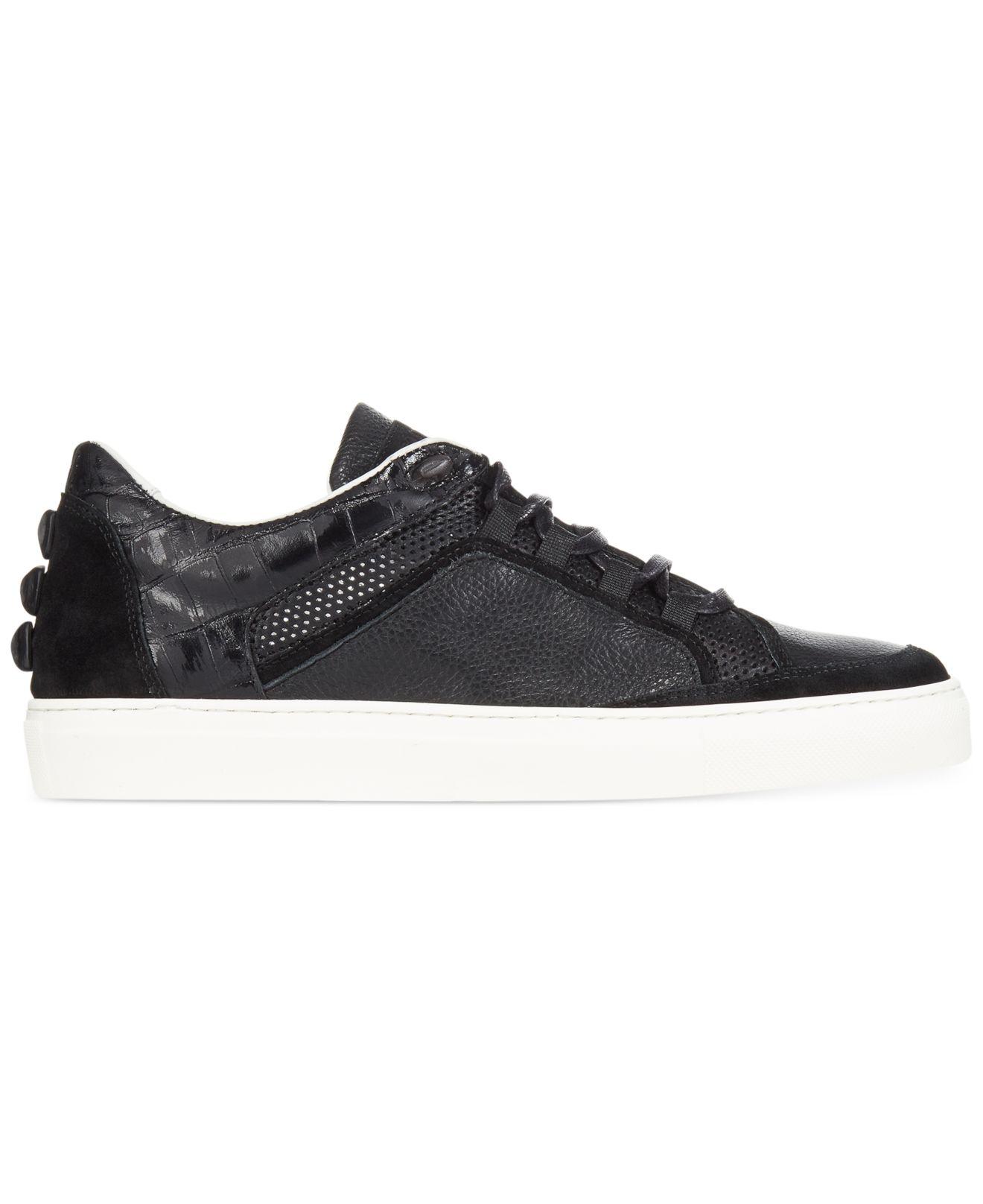 perforated low top sneakers - Black Roberto Cavalli Zv53H1QEo