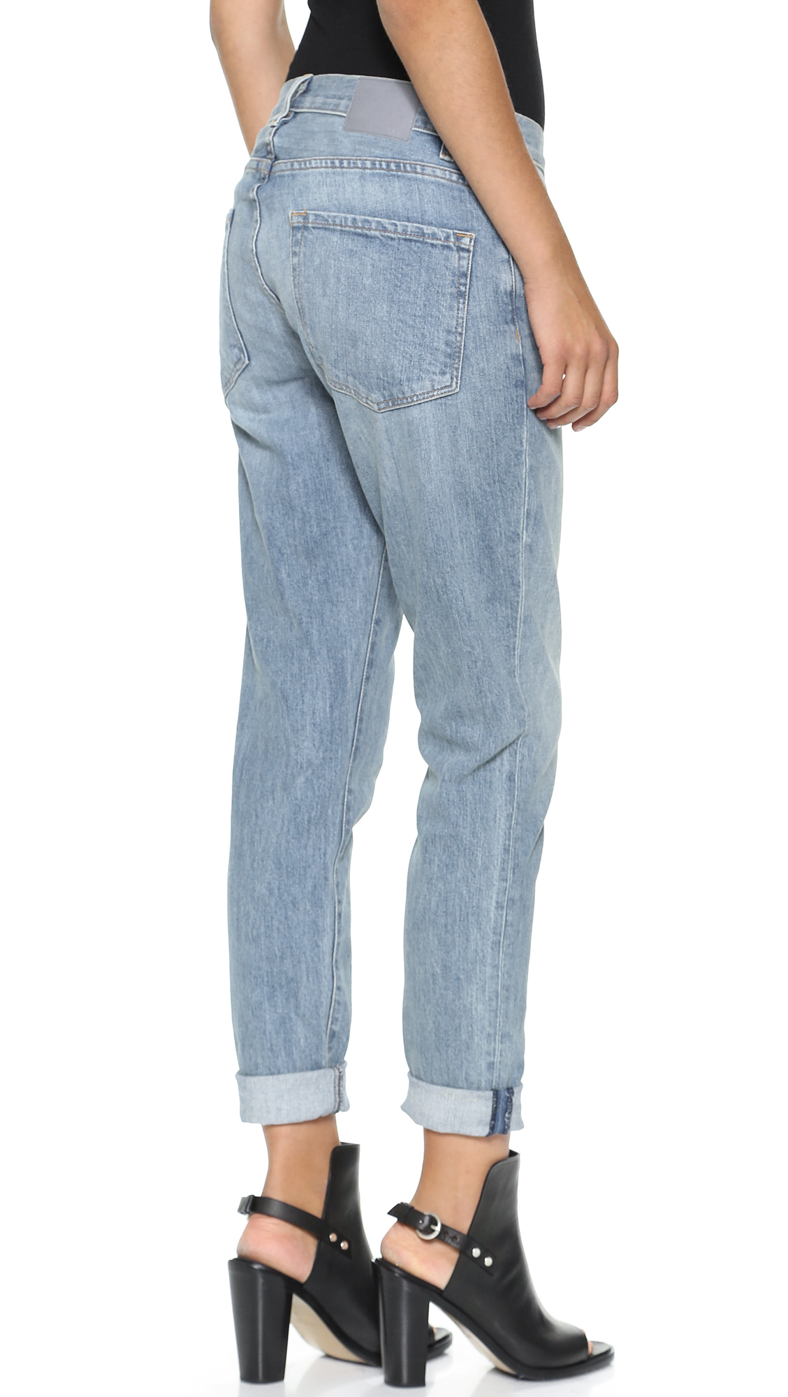 Lyst - 6397 Classic Baggy Jeans - Used Blue in Blue