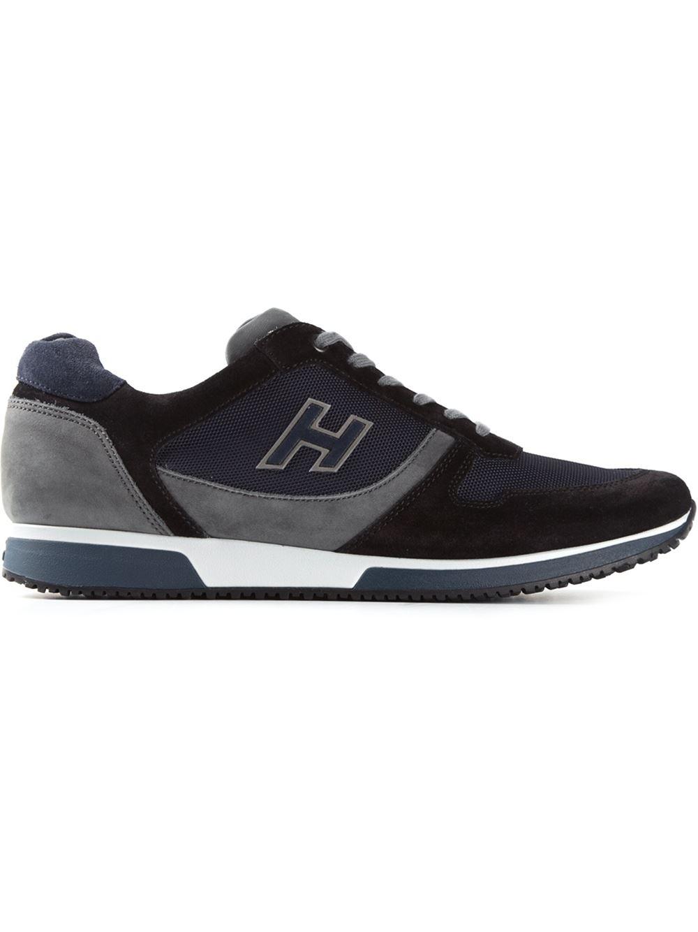 Hogan 'H198' Sneakers in Blue for Men - Lyst