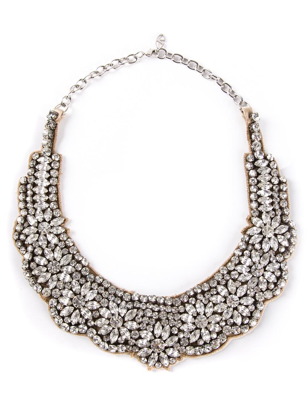 Valentino Garavani crystal-embellished necklace aIg40GI