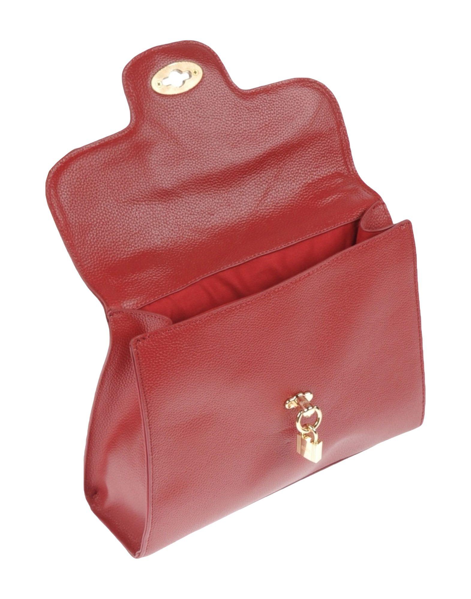 lyst jean louis scherrer handbag in red. Black Bedroom Furniture Sets. Home Design Ideas