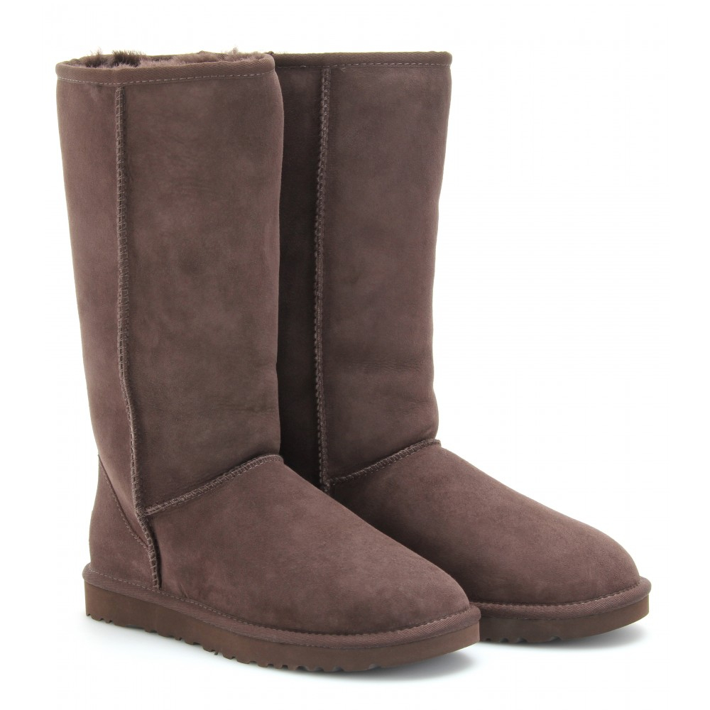 Lyst Ugg Classic Tall Boots In Brown