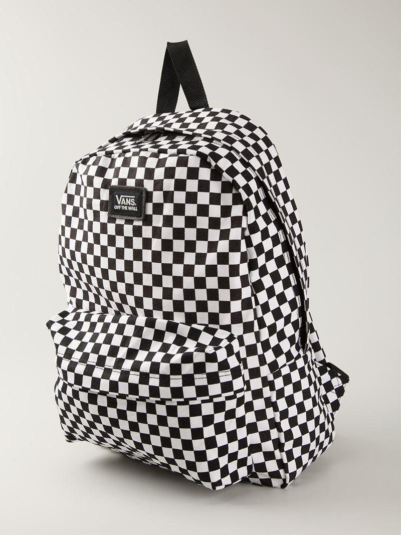 Vans Canvas Backpacks Amp Fanny Packs In Black For Men Lyst