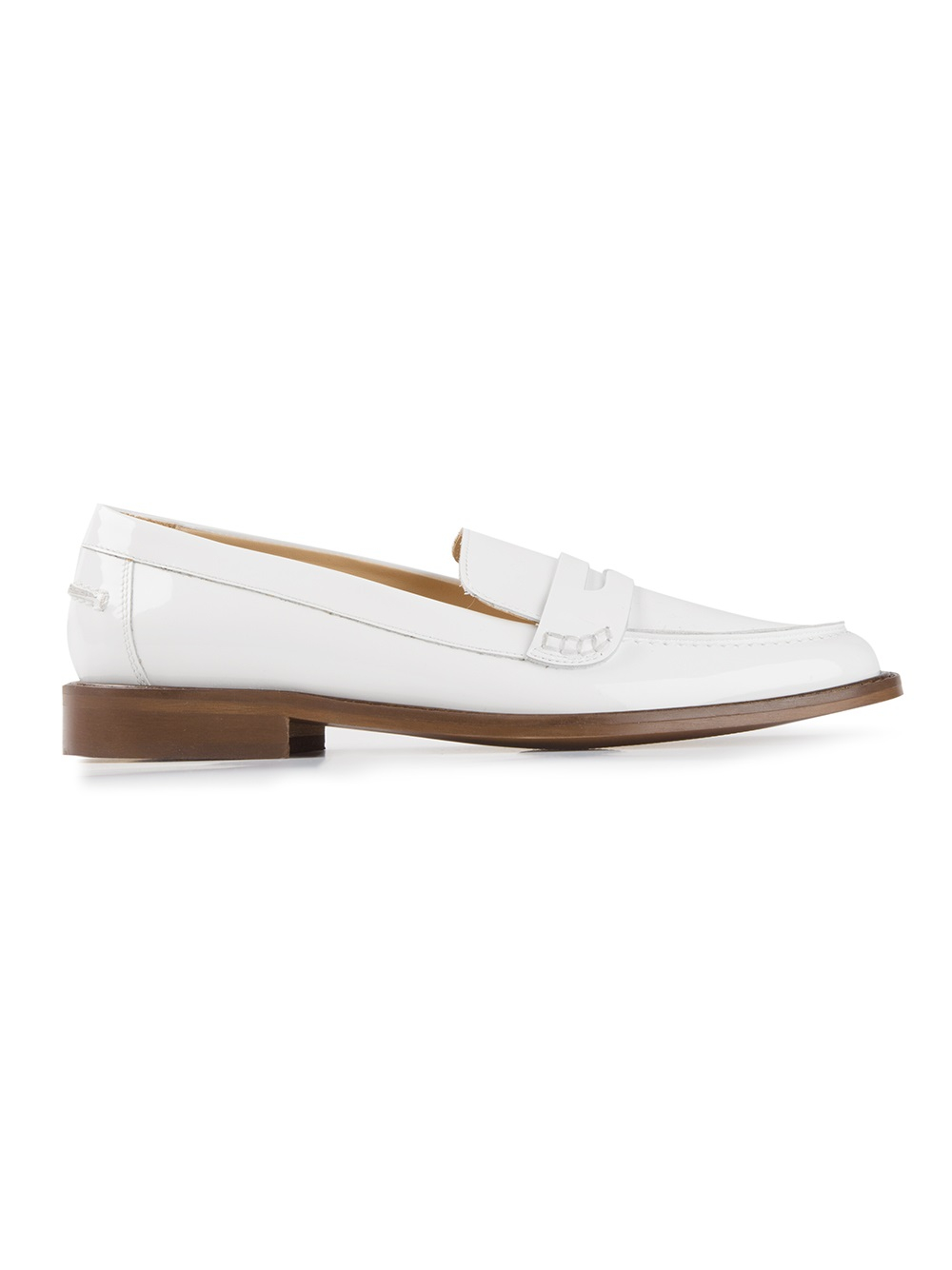 a17ca7a6bff Whyred 'Justina' Loafers in White - Lyst