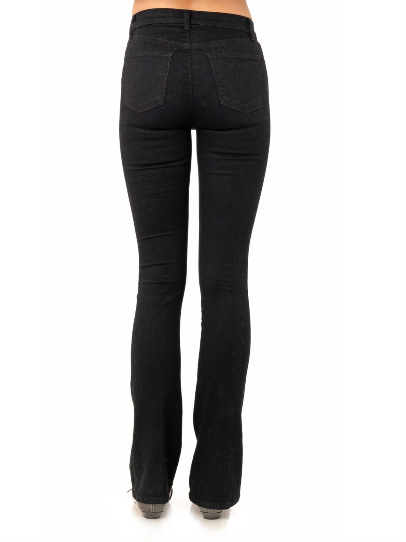 High-rise slim boot cut jeans with a dark indigo wash. GARMOY Women's Slim Fit High-Waisted Stretch Flared Jeans With Button. by GARMOY. $ - $ $ 29 $ 39 99 Prime. FREE Shipping on eligible orders. Some sizes/colors are Prime eligible. out of 5 stars Product Features.