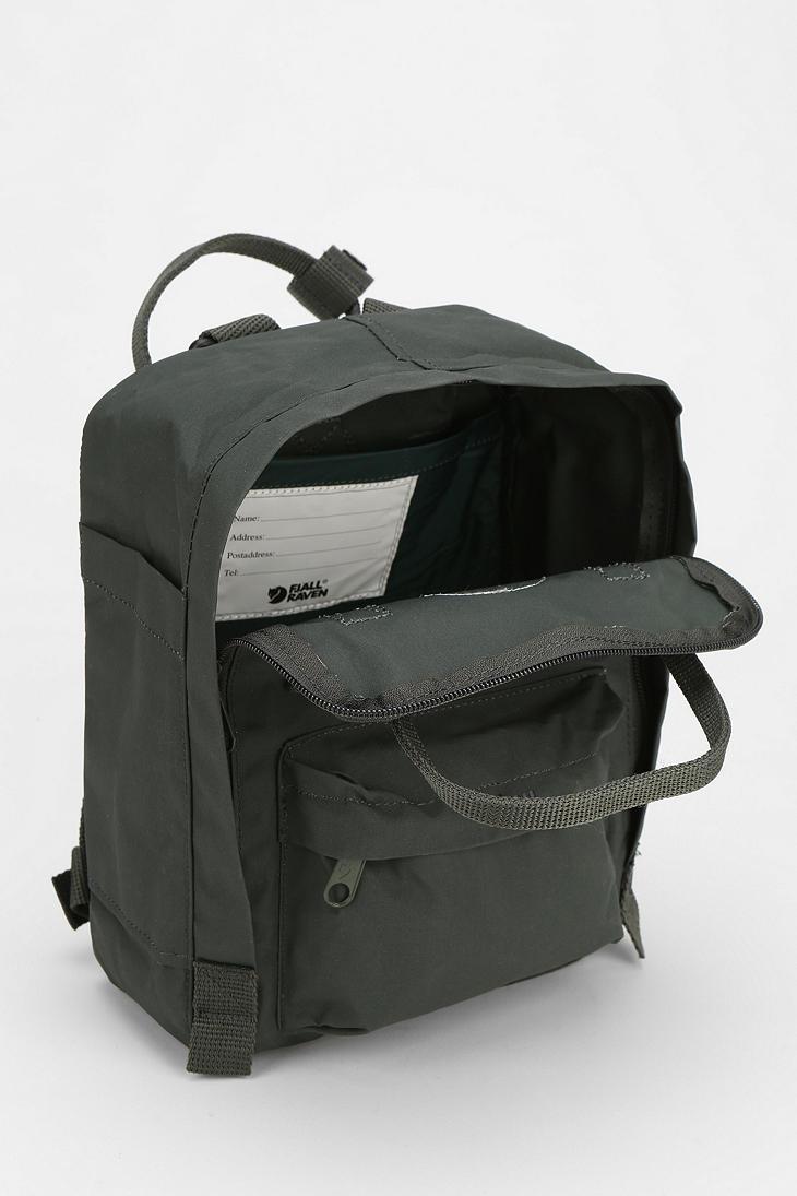 Urban Outfitters Fjallraven Kanken Mini Backpack In Green