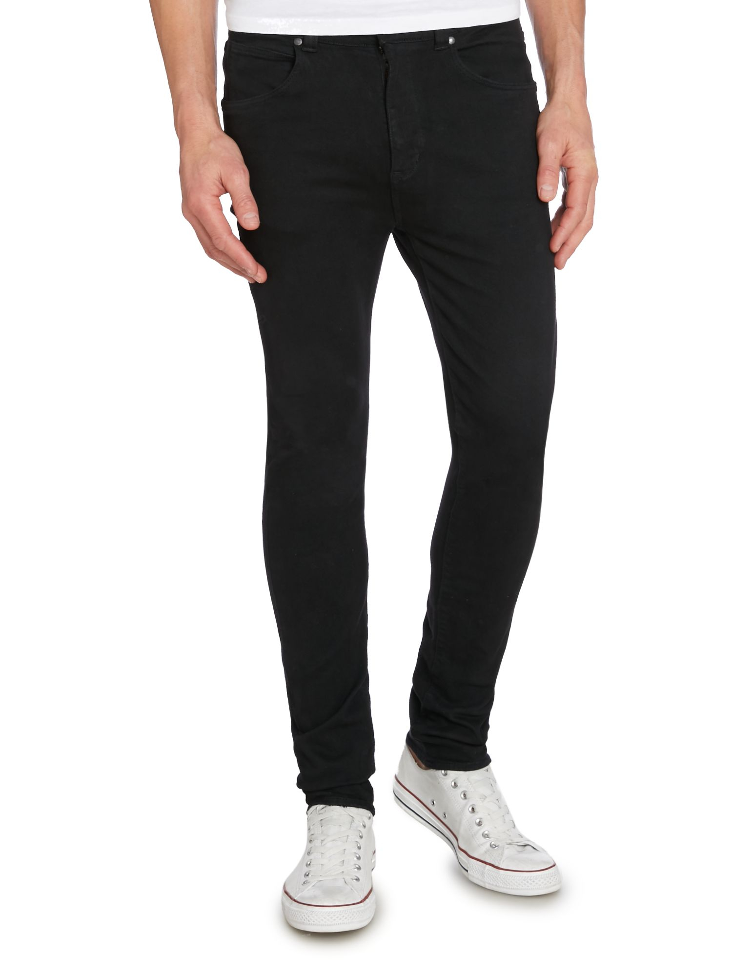Men's Black Tapered Fit Jeans £25 £ 20 From Debenhams Price last checked 9 hours ago Product prices and availability are accurate as of the date/time indicated and are subject to change.