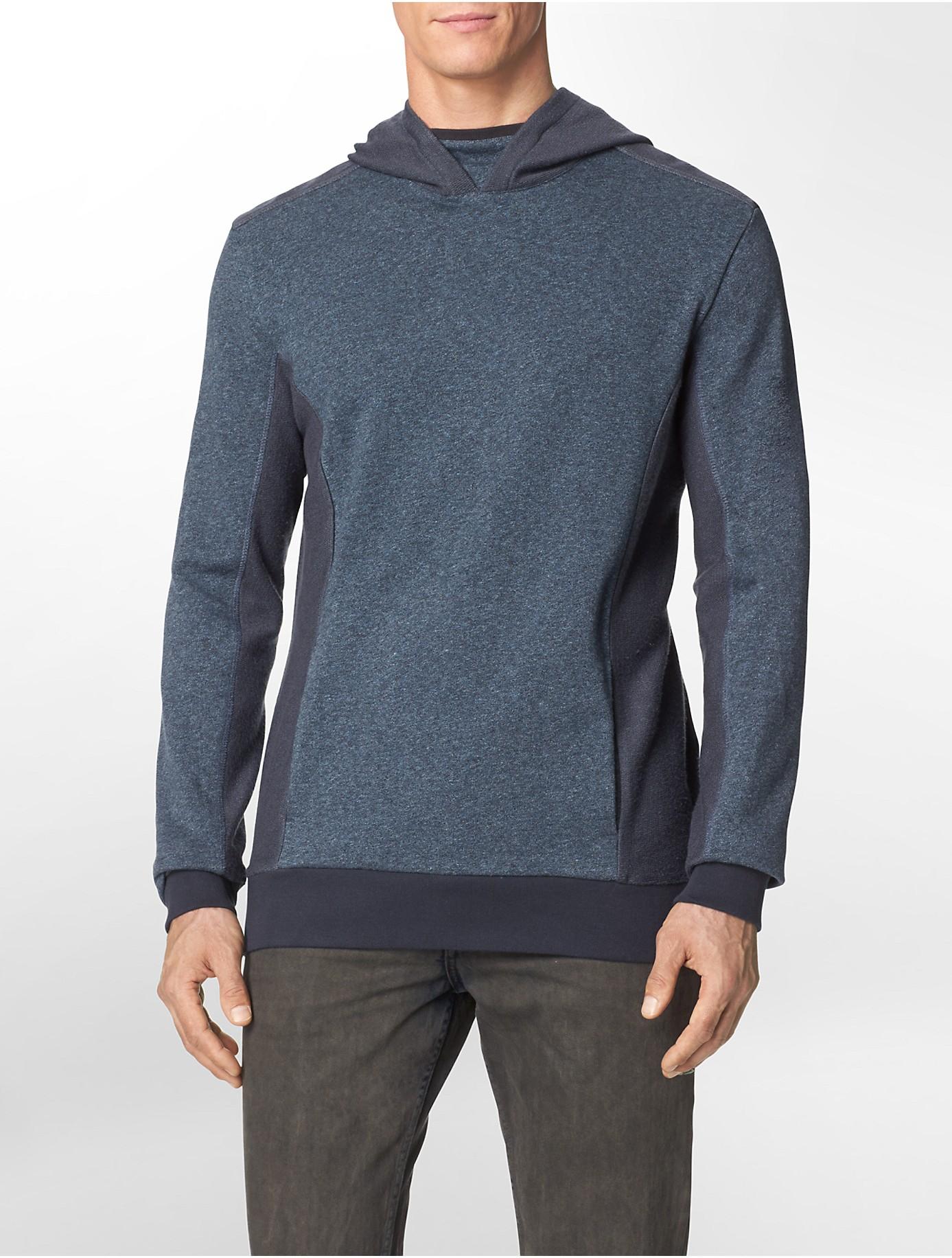 calvin klein jeans slim fit reverse pattern pullover. Black Bedroom Furniture Sets. Home Design Ideas