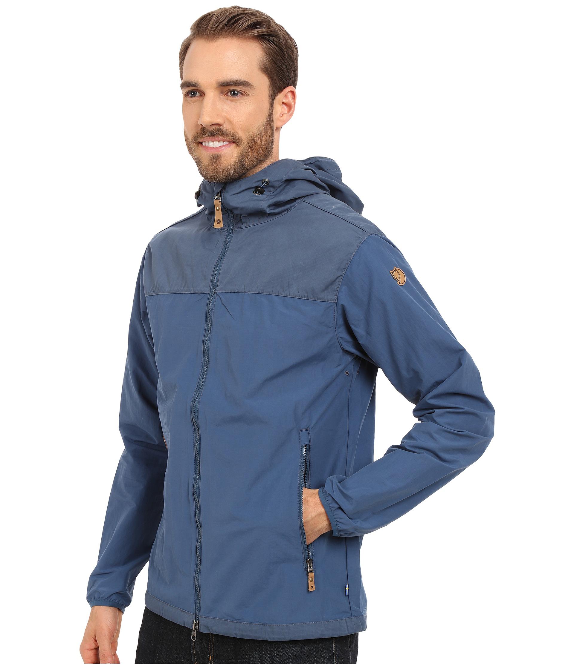 c5d41bd6c Men's Blue Abisko Hybrid Jacket