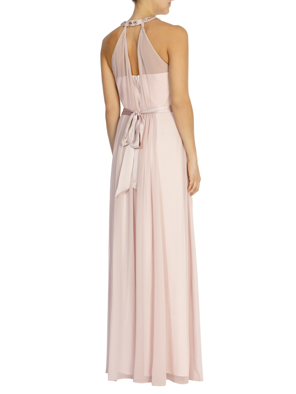 Coast blush maxi dress