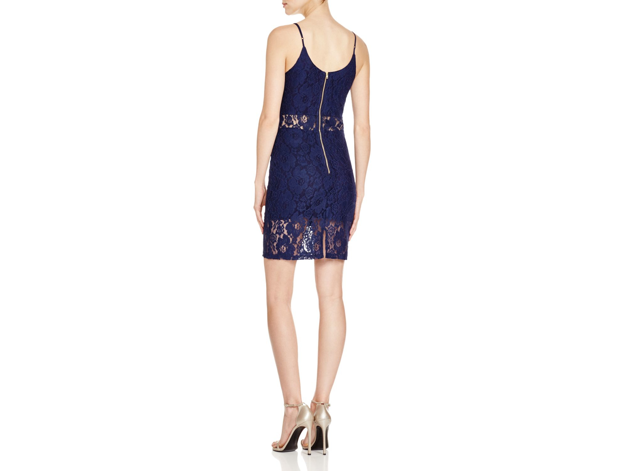 Watch - Blue aqua lace dress video