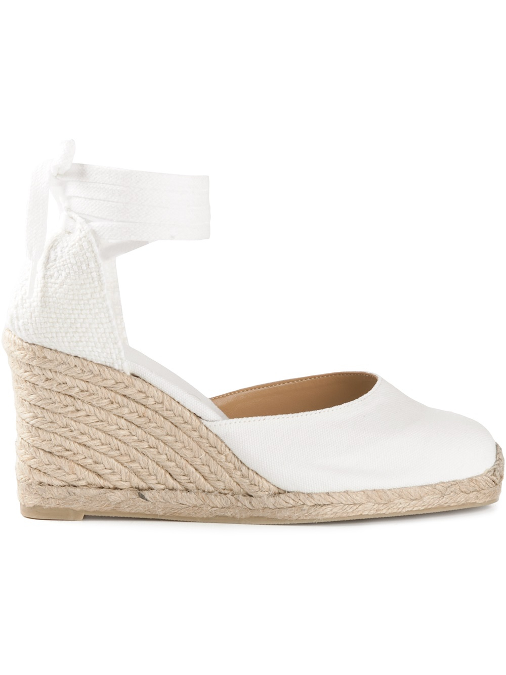 Womens White Wedge Shoes