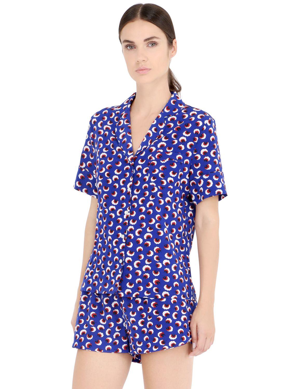 25cb3ed95 Stella Mccartney Poppy Snoozing Pyjama Set