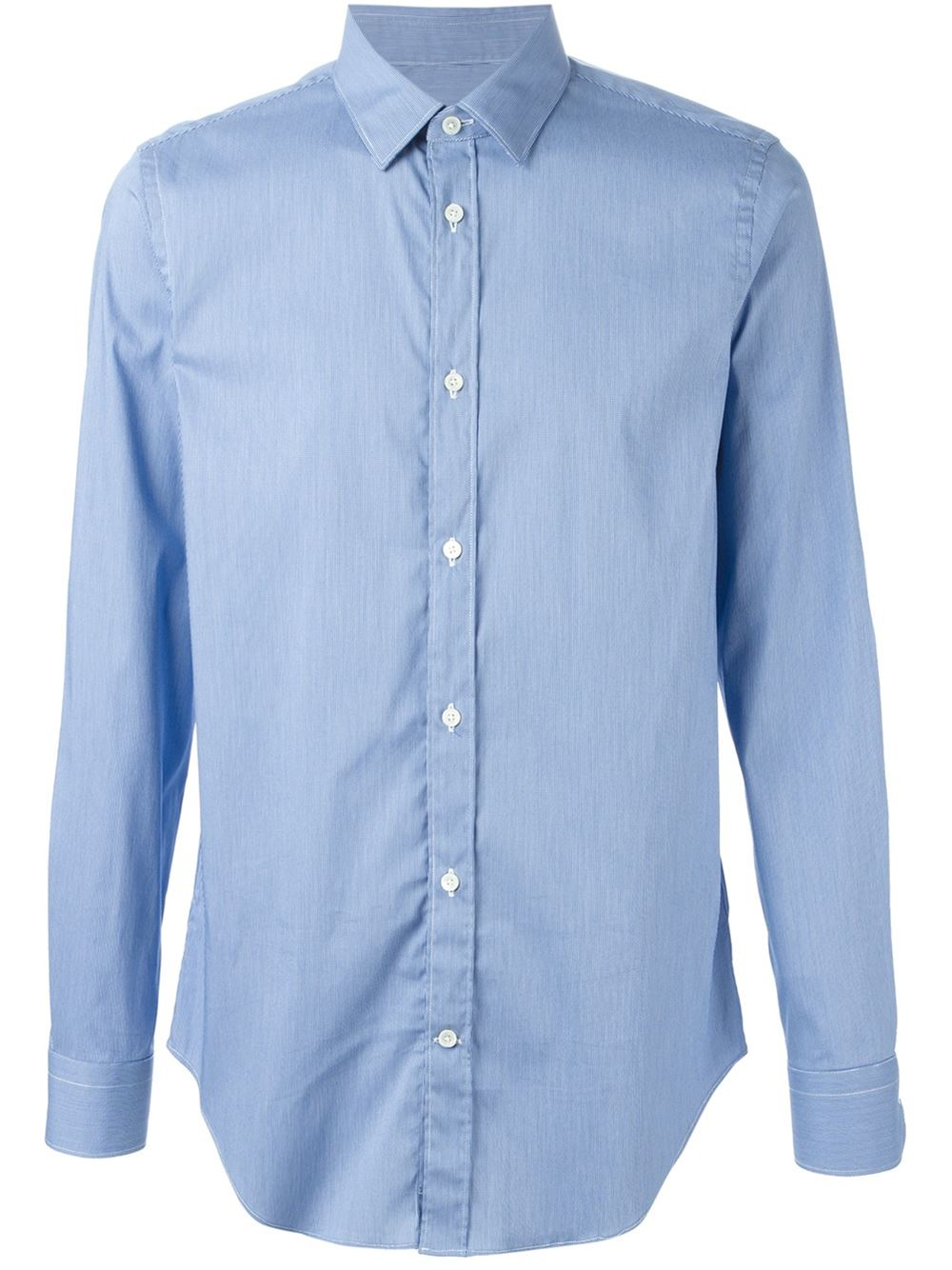 Mauro Grifoni Classic Button Down Shirt In Blue For Men Lyst
