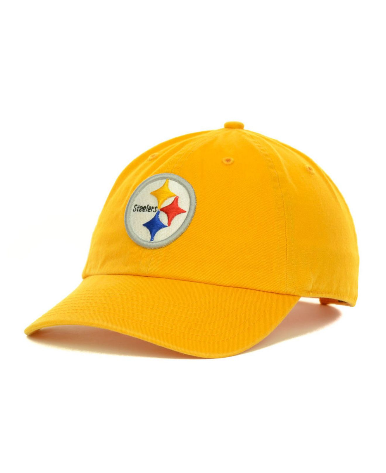 3a15c1aa591f5 Lyst - 47 Brand Pittsburgh Steelers Clean Up Cap in Yellow for Men