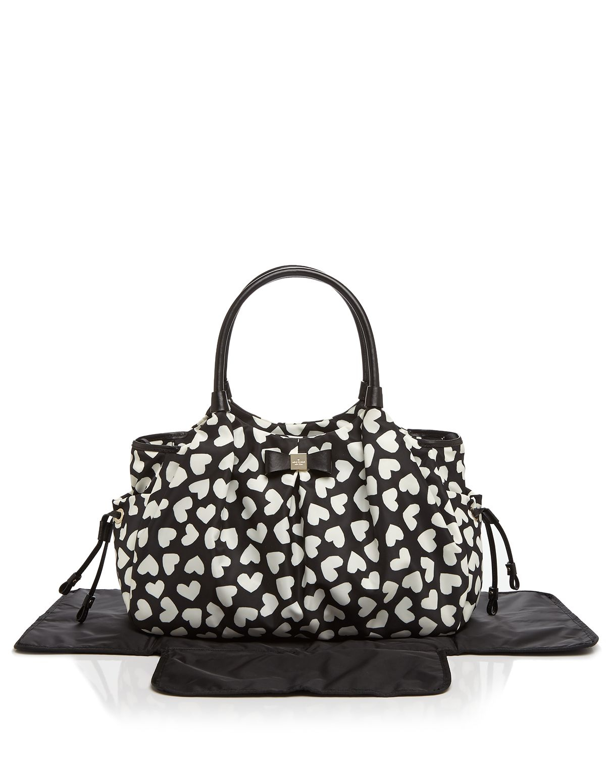 kate spade new york diaper bag renny drive nylon stevie in black lyst. Black Bedroom Furniture Sets. Home Design Ideas