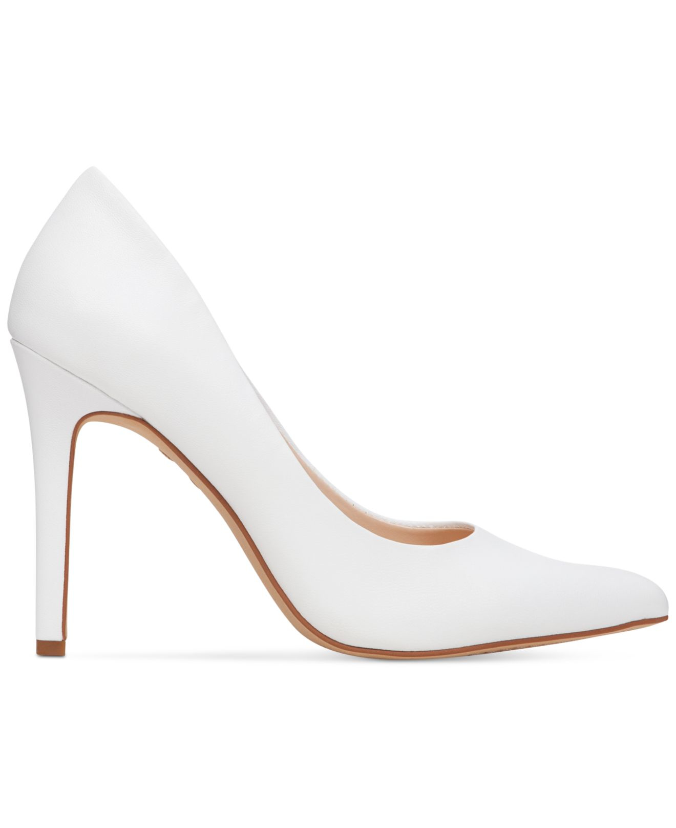 Vince Camuto Leather Kain Pointed Toe