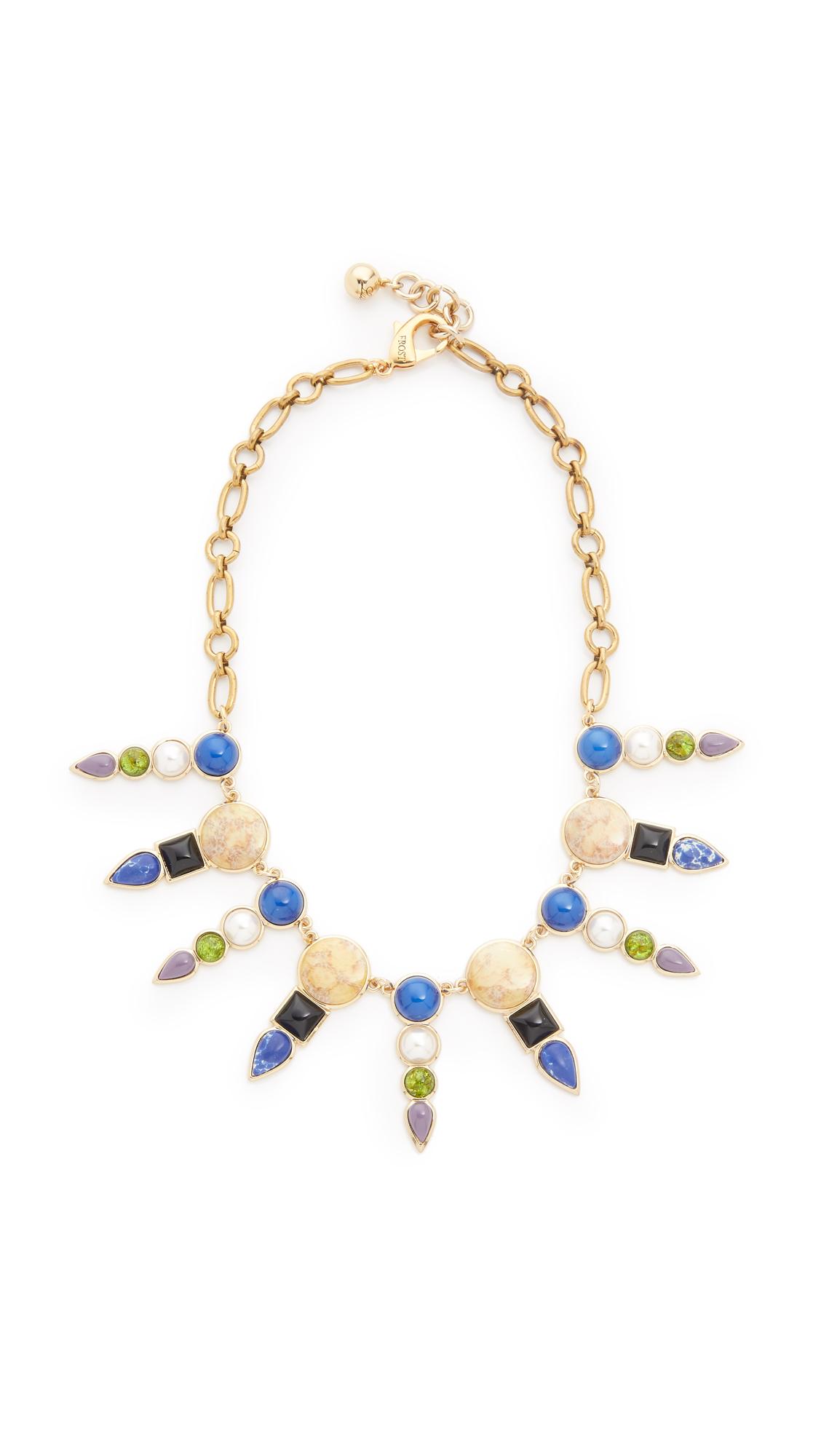 vintage frost necklace