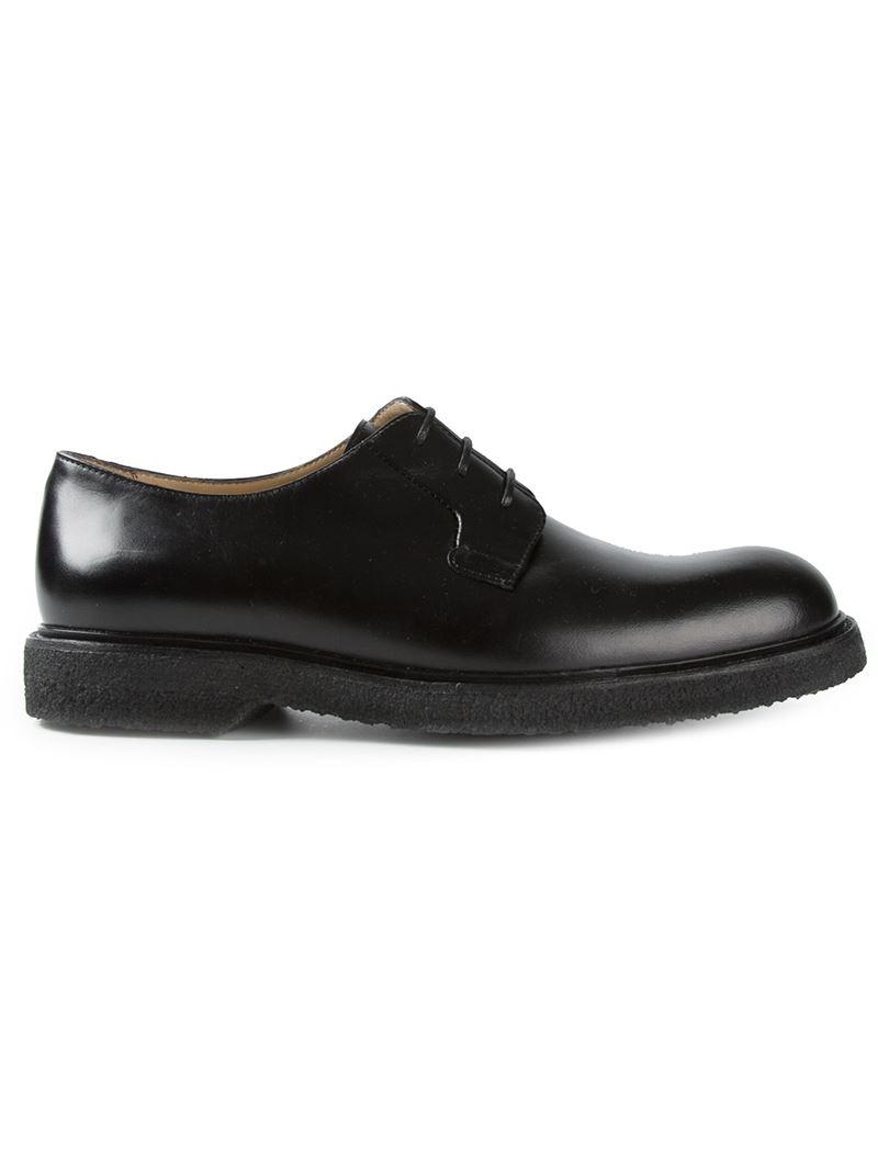 A.P.C. John Derby Shoes in Black for Men