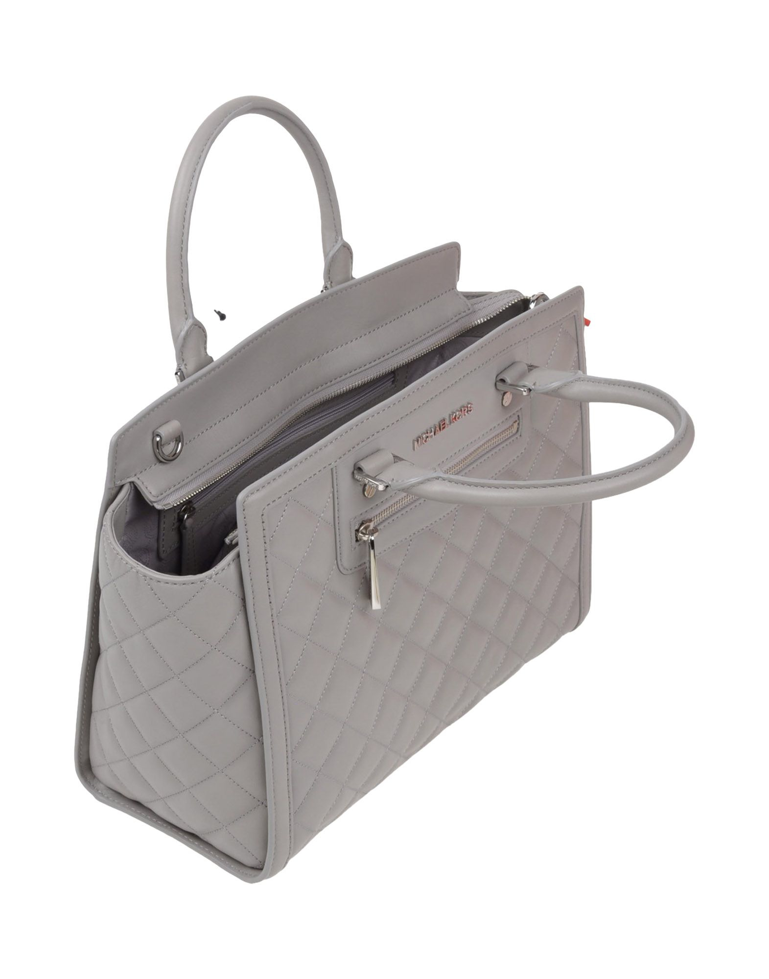 6ba7891ae9d4 ... purchase lyst michael michael kors handbag in gray 81b3b b417b