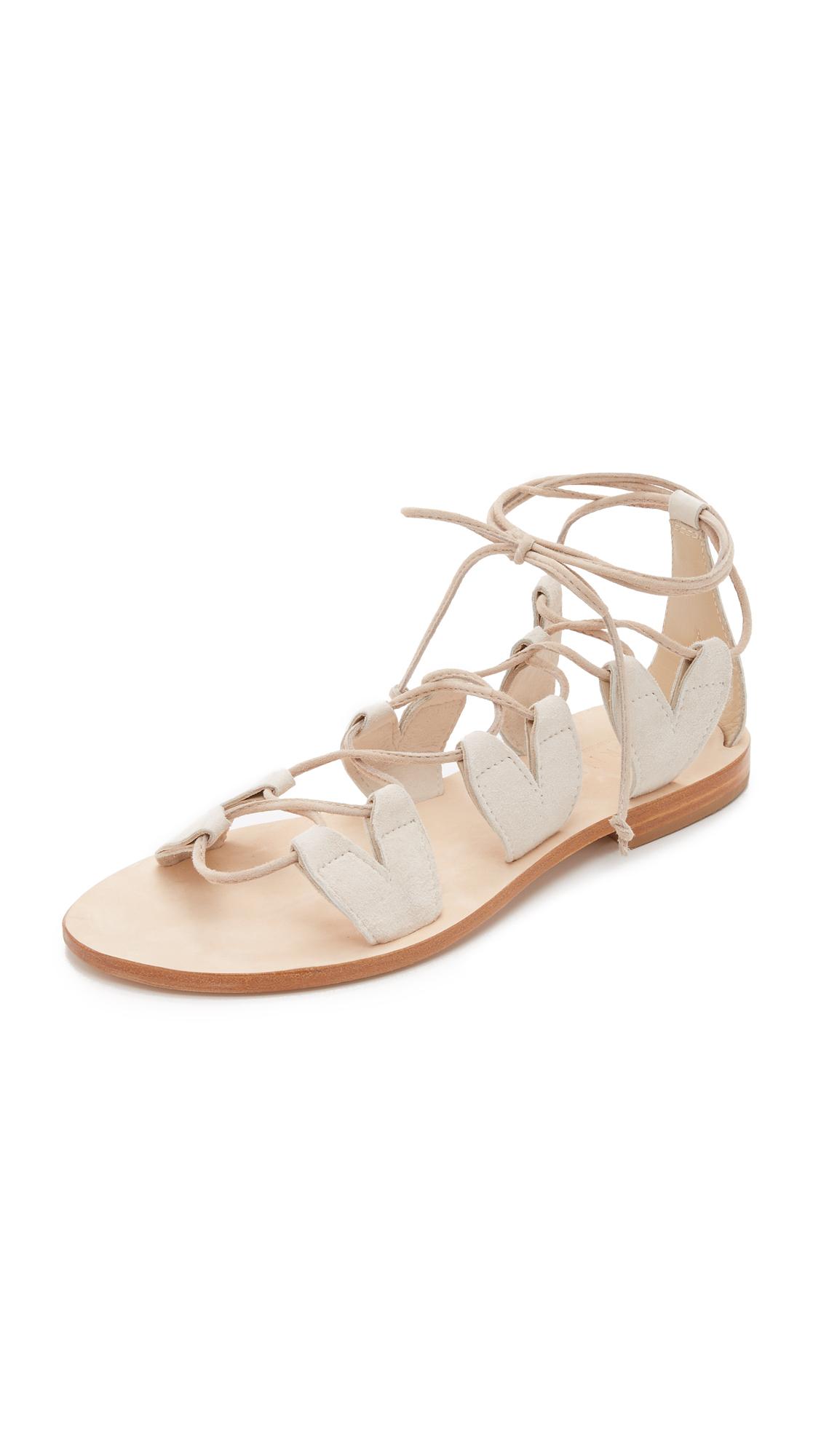 b7dd01976145 Cornetti Innamorati Gladiator Sandals in Natural - Lyst